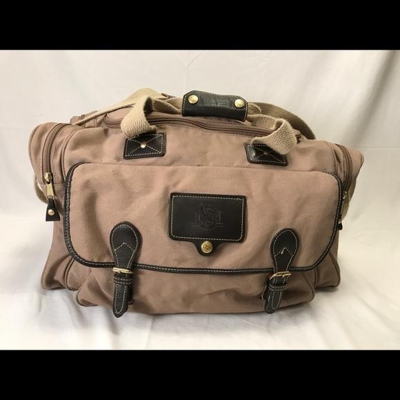 b1f5b92f17 Eddie Bauer Other - Eddie Bauer Ford Duffel Overnight Gym Bag Made USA